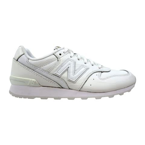 separation shoes 6210f 302f6 New Balance Leather 696 White White WL696CRW Women s