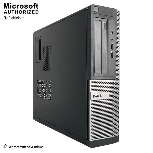 Dell OptiPlex 390 DT Intel Core i3 2100 3.10GHz, 8GB RAM, 1TB HDD, DVD, WIFI, BT 4.0, VGA, HDMI WIN10P64(EN/ES)-Refurbished