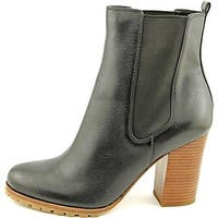Coach Womens Odelle Leather Almond Toe Ankle Fashion Boots