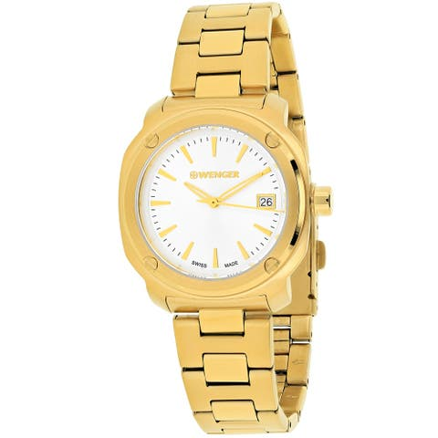 Wenger Women's Edge Index 01.1121.107 Silver Dial watch