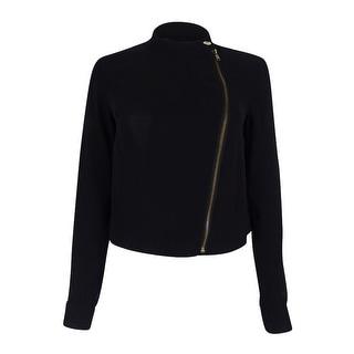 Rachel Roy Women's Cropped Chiffon Jacket