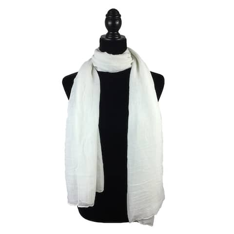 7aef06e046 Buy White Scarves Online at Overstock | Our Best Scarves & Wraps Deals