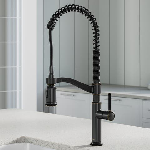 Kraus KPF-1683 Sellette Commercial 2-Function Pulldown Kitchen Faucet