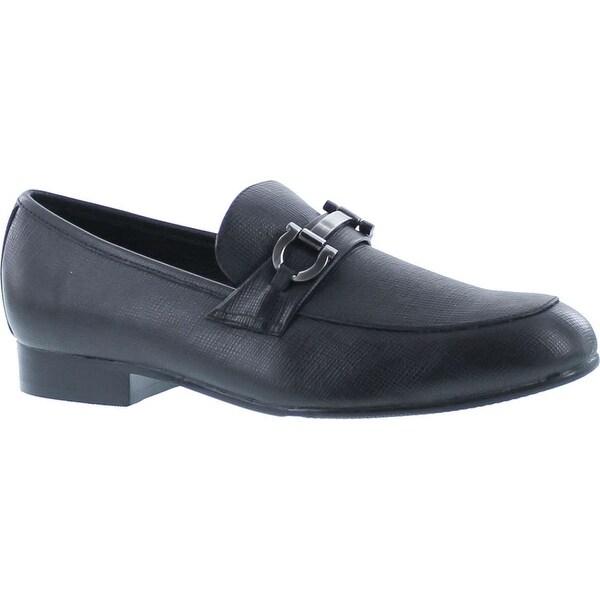 Venettini Boys 55-Ace14 Designer Buckle Slip On Loafers Shoes