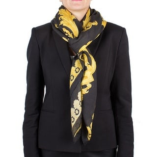 Versace Women's Medusa Head Baroque Patten Modal Scarf Large