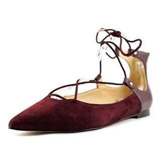 Sam Edelman Rosie   Round Toe Leather  Flats