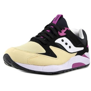 Saucony Grid 9000 Men  Round Toe Synthetic Black Sneakers