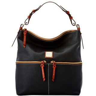 Dooney & Bourke Pebble Grain Zipper Pocket Sac Shoulder Bag (Introduced by Dooney & Bourke at $268 in May 2017)