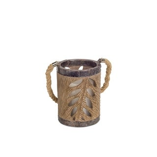 """Pack of 4 Brown Hanging Candle Holder 6.25"""""""