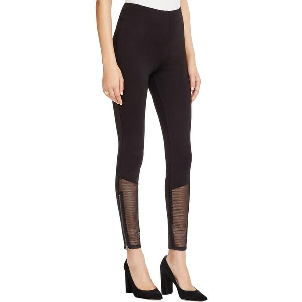 Lysse Womens Meridian Athletic Pants Mesh Work Out