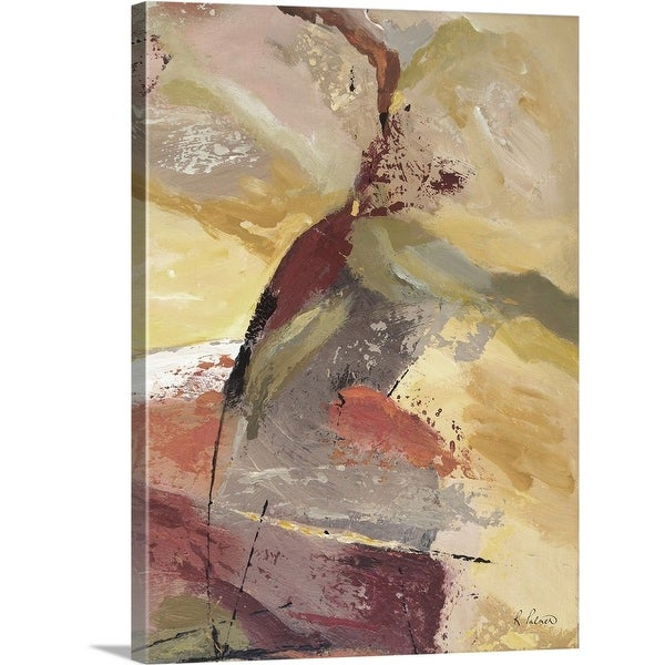 """""""Shaken And Removed I"""" Canvas Wall Art"""