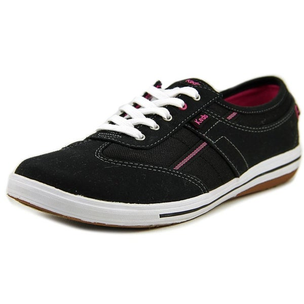 Keds Craze Women Round Toe Canvas Black Sneakers