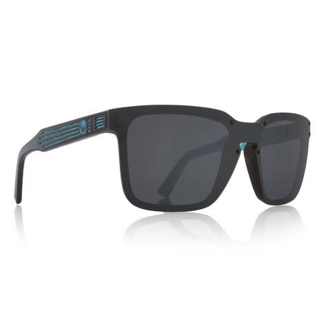 Dragon Alliance Mansfield Sunglasses, Palm Springs Pool, Grey - Black - 58
