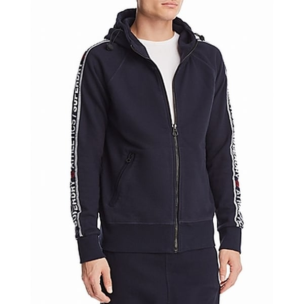 bffccce2d Shop Superdry Navy Mens Medium Full Zip Hooded Sweater - Free Shipping On  Orders Over $45 - Overstock - 27008051