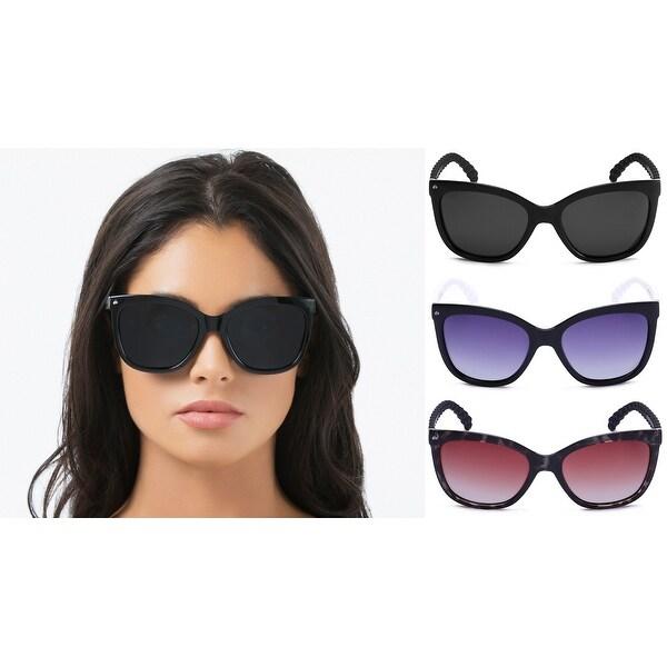 16285d086da6 PRIVÉ REVAUX The Conquistador Handcrafted Designer Polarized Oversized  Sunglasses For Women