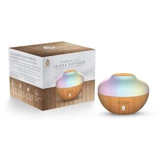 Pursonic AD400 LED Portable Aromatherapy Diffuser, 300ml - Wood Grain