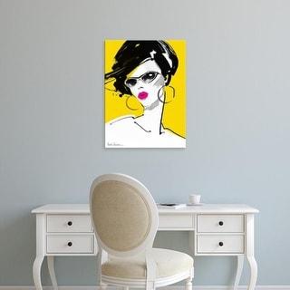 Easy Art Prints Aasha Ramdeen's 'Sunglasses' Premium Canvas Art