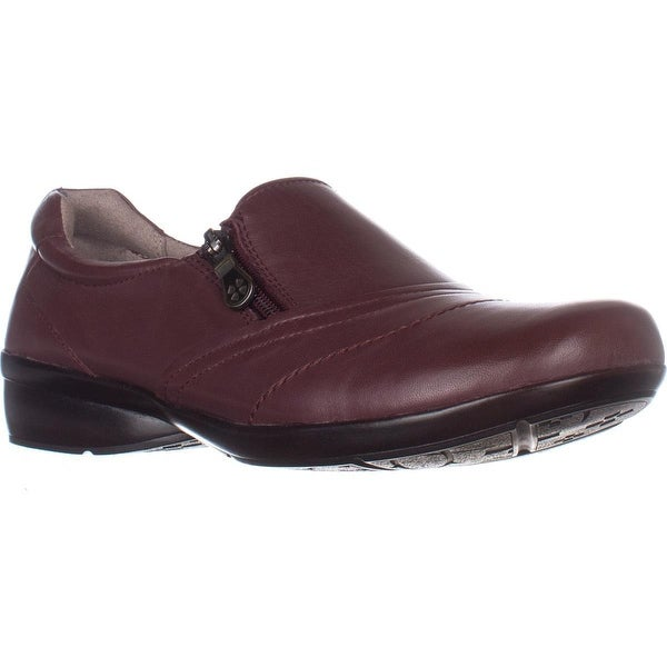 naturalizer Clarissa Slip-on Comfort Shoes, Wine Leather