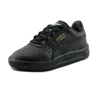 Puma Gv Special Kids Toddler Round Toe Leather Black Sneakers