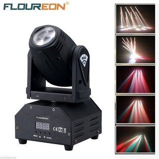10W Mini Moving Head Beam Light RGBW Cree LED Disco Spot Stage Lighting DMX 13CH