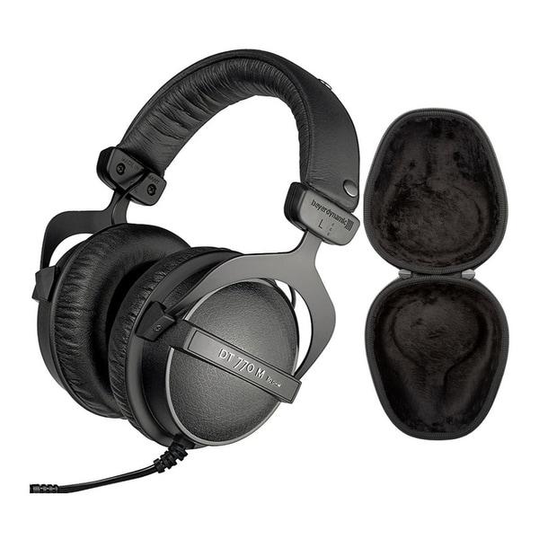Beyerdynamic DT 770M Headphones (80 Ohm) and Hard Shell Case Bundle. Opens flyout.