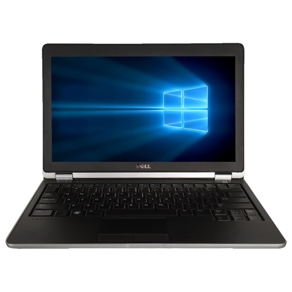 "Refurbished Laptop Dell Latitude E6230 12.5"" Intel Core i5-3320M 2.6GHz 8GB DDR3 1TB Windows 10 Pro 1 Year Warranty - Black"