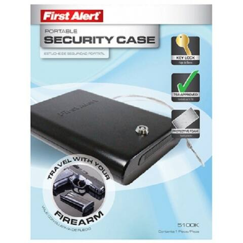 First Alert 3026F Deluxe Cash Box with Money Tray, 0.2 Cu.Ft.