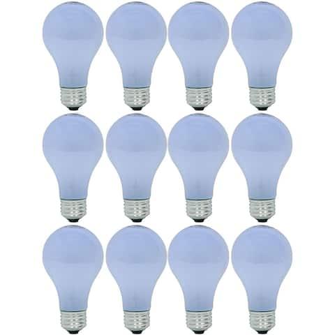 GE Lighting Reveal HD Halogen Light Bulbs, A19 Enhance Spectrum (40 Watt Replacement), 325 Lumen, Medium Base, 4-Pack - 12 Pack