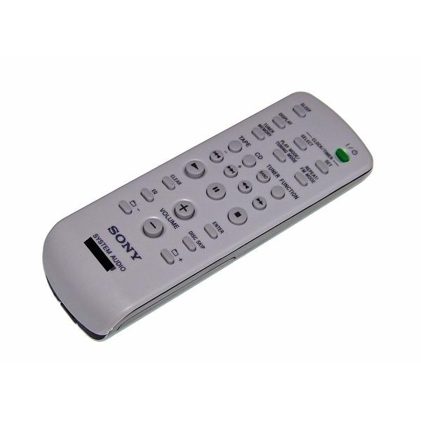 OEM Sony Remote Control Originally Shipped With: CMTHPZ9, CMT-HPZ9, MHCRG590S, MHC-RG590S, HCDEC70, HCD-EC70