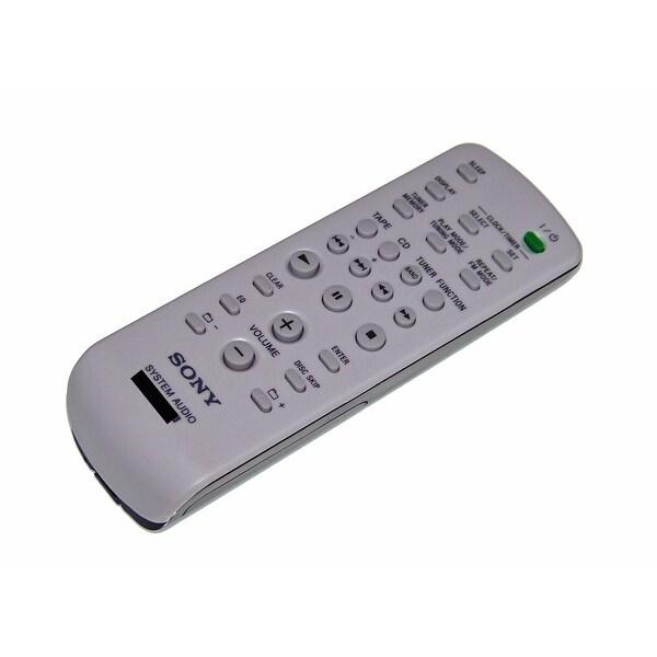 OEM Sony Remote Control Originally Shipped With: MHCRG490S, MHC-RG490S, HCDHPZ9, HCD-HPZ9, MHCEC50, MHC-EC50
