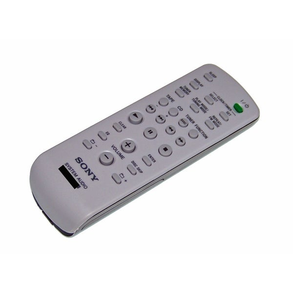 OEM Sony Remote Control Originally Shipped With: MHCRG595, MHC-RG595, MHCRG295, MHC-RG295, HCDEC50, HCD-EC50
