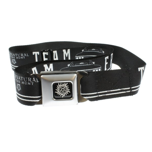 Supernatural Team Free Will Seatbelt Belt
