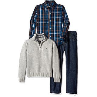 Nautica Boys 2T-4T 3-Piece Half Zip Sweater Set|https://ak1.ostkcdn.com/images/products/is/images/direct/e664cb9e8145f495a404469d3ffc3444841d14f9/Nautica-Boys-2T-4T-3-Piece-Half-Zip-Sweater-Set.jpg?impolicy=medium