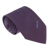 Missoni U5565 Purple/White Pin Dot 100% Silk Tie - 60-3