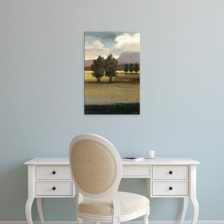 Easy Art Prints Norman Wyatt's 'Mountain Range I' Premium Canvas Art