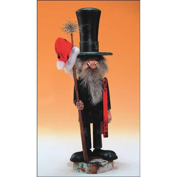 """14"""" Zims Heirloom Collectibles Chimney Sweep Christmas Nutcracker - multi"""