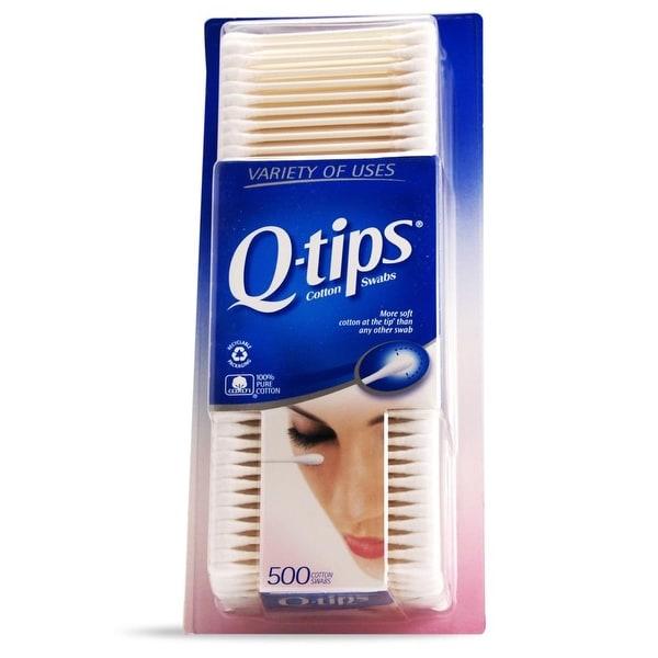 Q-Tips Cotton Swabs 500 Count