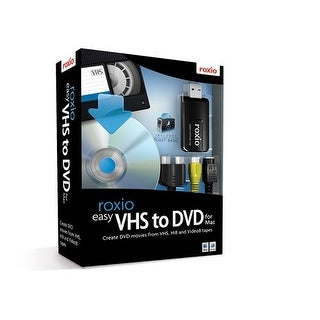 """""""Corel Roxio Easy VHS to DVD with Video Capture USB Device Roxio Easy VHS to DVD"""""""