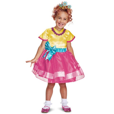 Disguise Fancy Nancy Classic Toddler Costume - Pink/Gold
