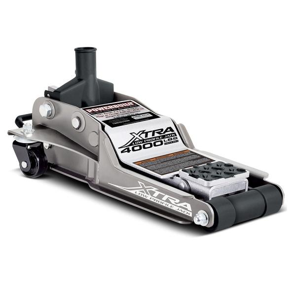 """Powerbuilt 2 Ton Xtra Low Profile Floor Jack, 2-3/4"""" to 15-1/4"""" Range, 620479E"""