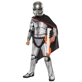 Kids Super Deluxe Captain Phasma Star Wars Costume