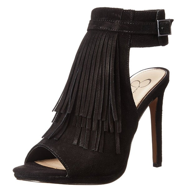 f29186c2418 Shop Jessica Simpson Womens MARIENNA Leather Open Toe Ankle Strap ...