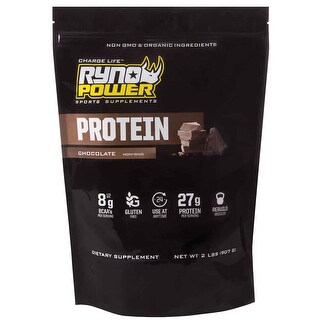 Ryno Power Protein Powder - 2Lbs - Chocolate - PPC4657