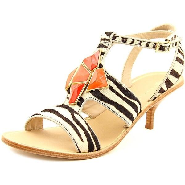 Trina Turk ELSA Women Open Toe Suede Multi Color Sandals