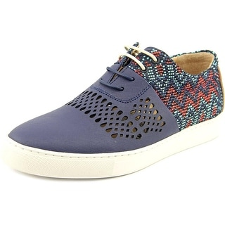 TCG Vincent Men Round Toe Leather Sneakers