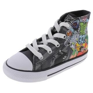 Converse Boys Teen Titans Go Casual Shoes High Top Skateboard