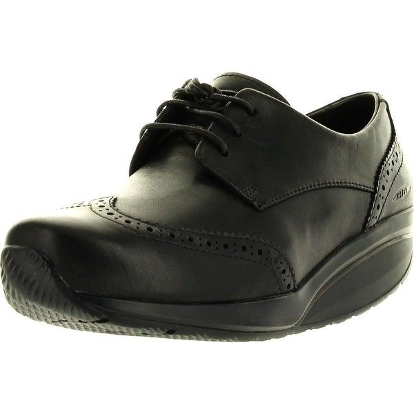Shop Mbt Womens Raawiya Coffee Ladies Dress Shoes - Black - Free ... b27a340d5ddf