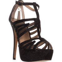 TS35 Flairr Platform Dress Sandals, Black