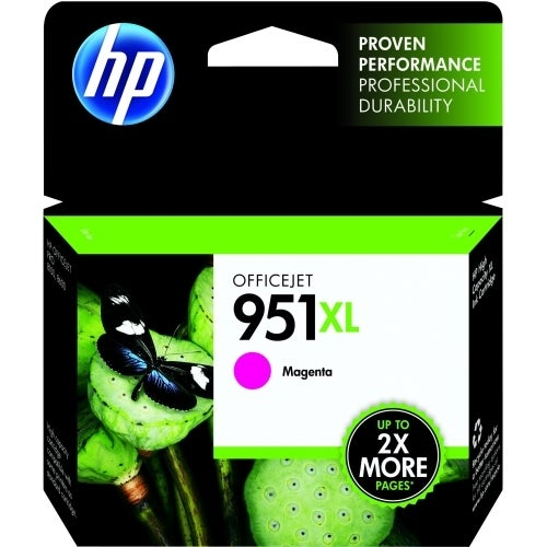 HP 951XL High Yield Magenta Original Ink Cartridge (Single Pack) HP 951XL Ink Cartridge - Magenta -