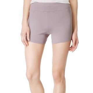 Hot Kiss NEW Gray Size XL Junior's Active Stretch Pull-On Shorts